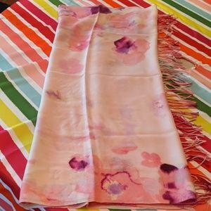 Pink & purple scarf